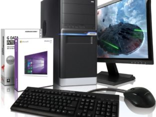 PC komplett Set mit Monitor TFT