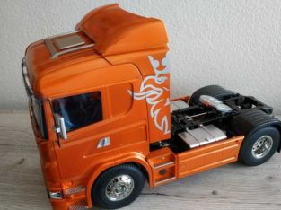 Tamiya Scania R470 Orange mit RC